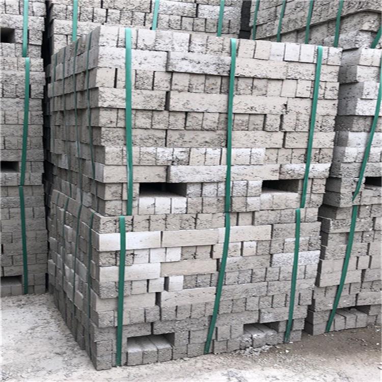 实心砖 透水混凝土砌块 德阳混凝土实心砖