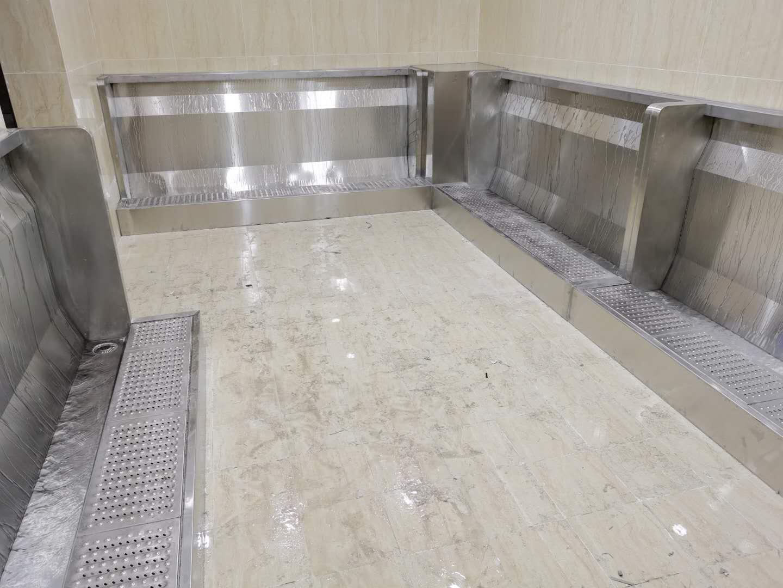 郑州不锈钢小便池定制 不锈钢尿槽全图 酒泉不锈钢小便池销售
