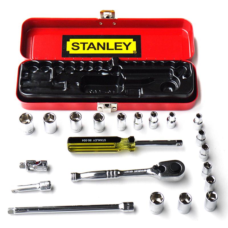 史丹利 21件套6.3MM公英制组套,89-507-22