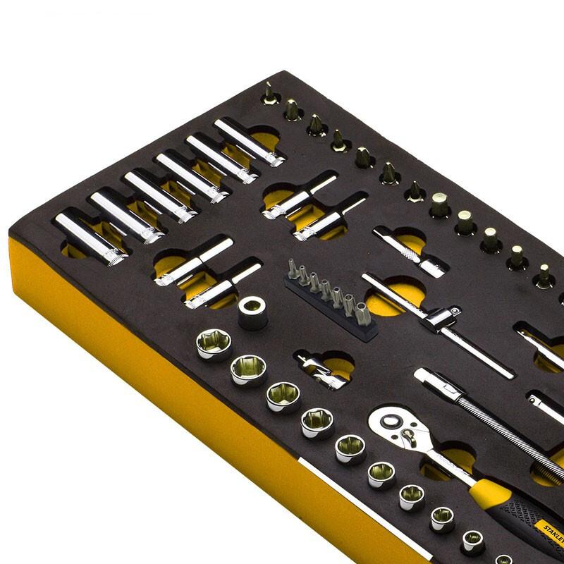 """史丹利EVA工具托组套-33件3/8""""系列套筒,90-030-23"""