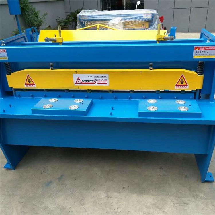 1米电动剪板机 1.5米减速机电动剪板机厂家 生产源地