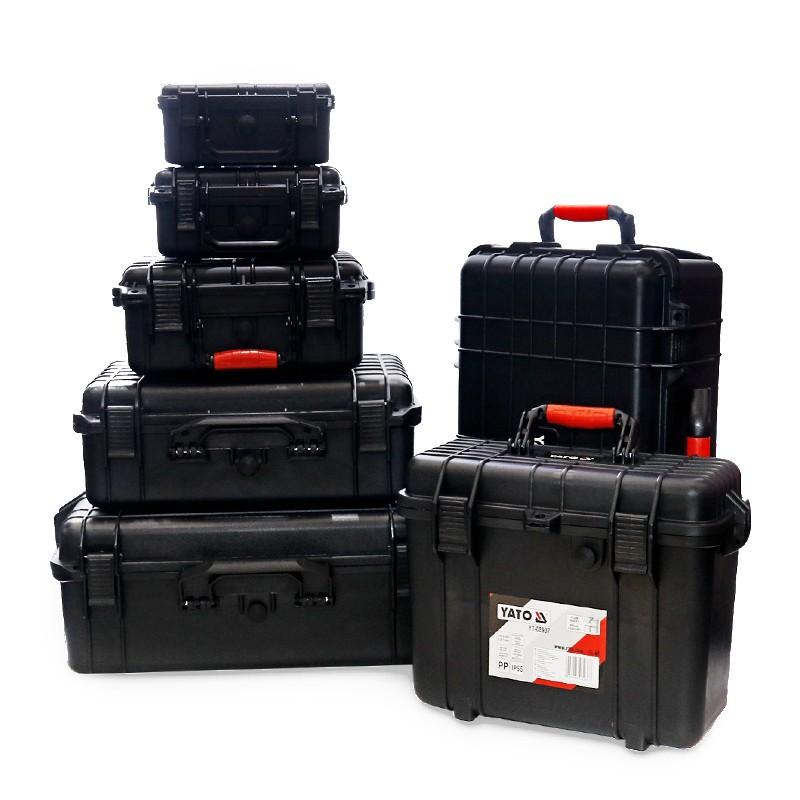 易尔拓YATO 拉杆式安全箱,559X351X229 mm,YT-08905 559X351X229 MM YT-08905