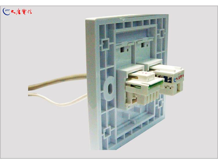 網絡單口面板 雙口信息面板電話 嚴格出廠測試