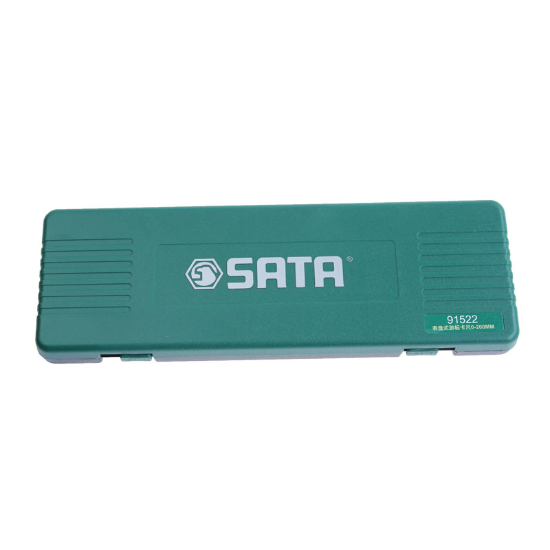 世达表盘式游标卡尺,0-200MM,91522