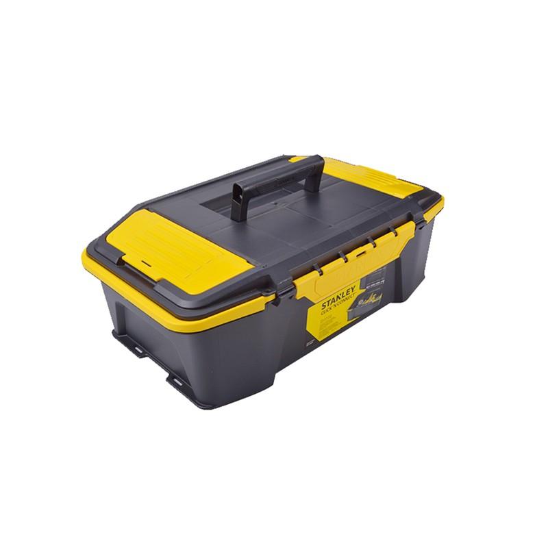 """史丹利 双向开塑料工具箱,20"""",STST19950-8-23,工具箱 收纳工具盒 车载工具箱 多功能收纳箱"""