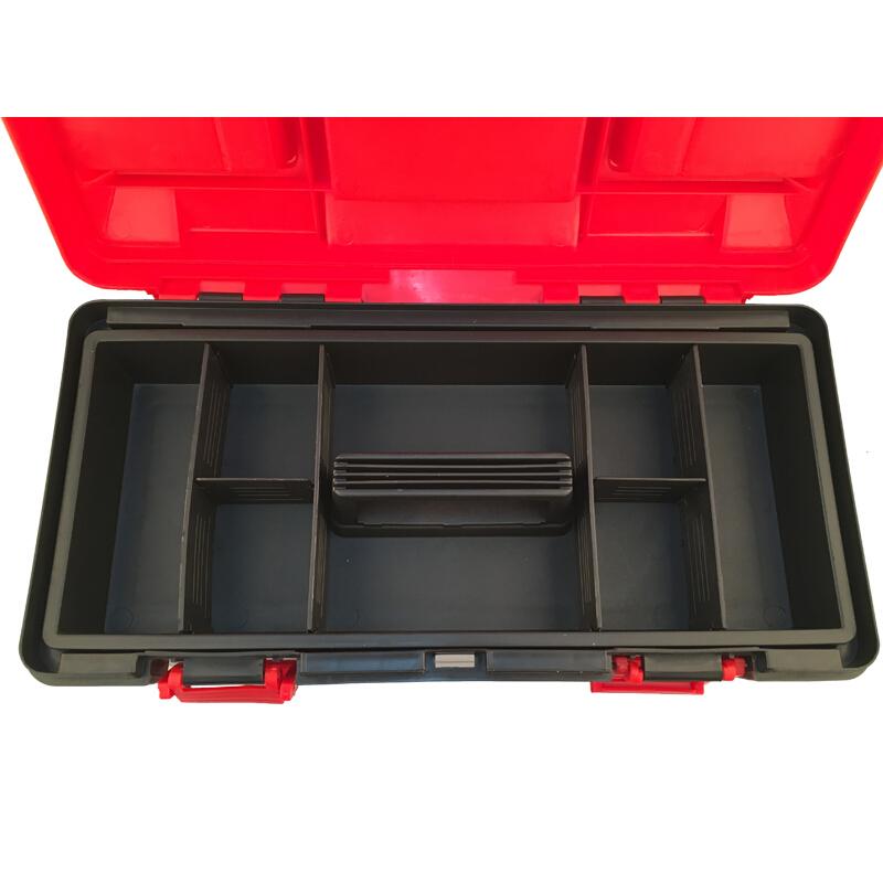 """力易得工具箱,塑料加强型 19"""", E8125"""