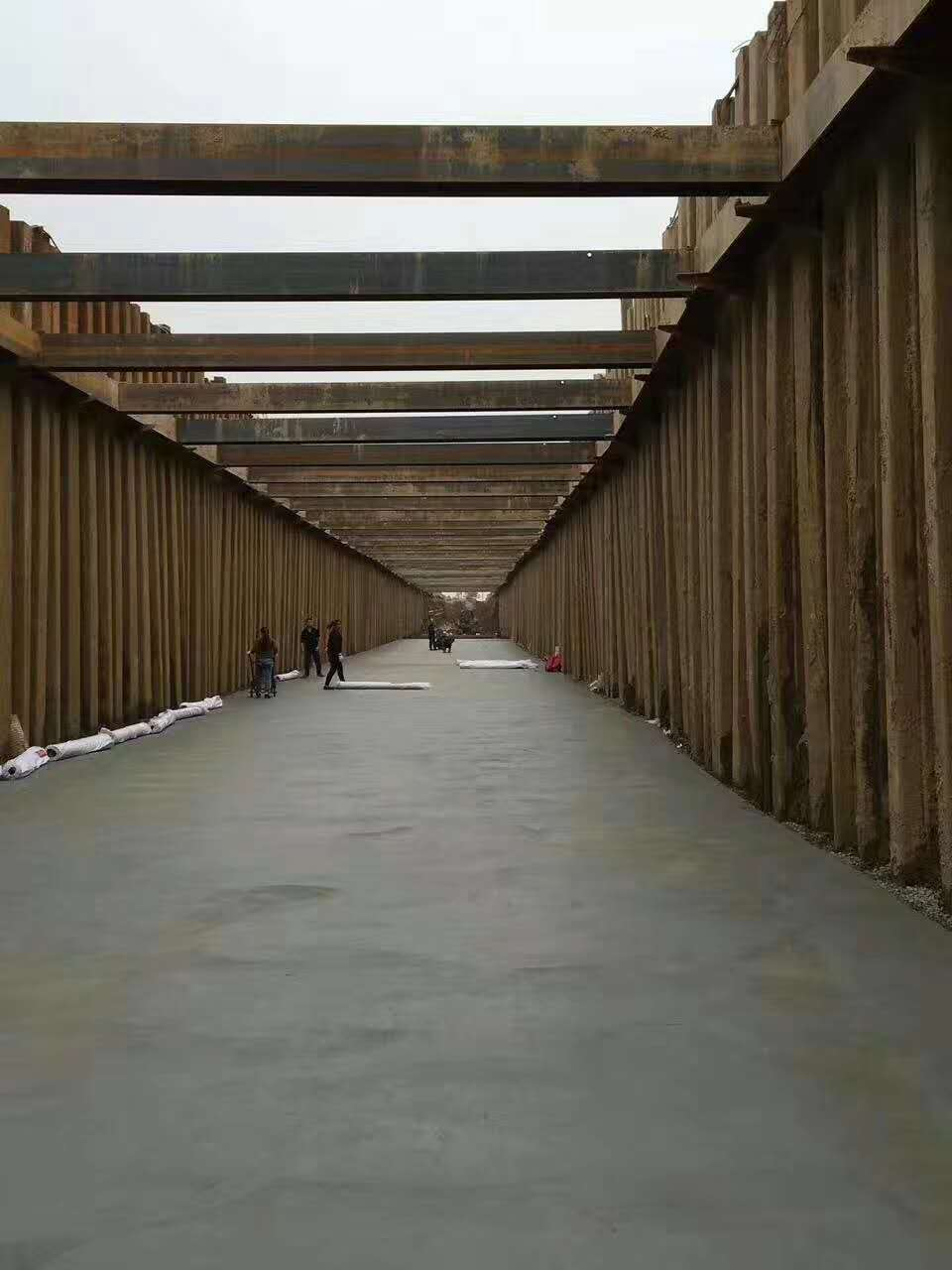长春钢板桩支护 好口碑的打桩机施工 库存充足 规格齐全