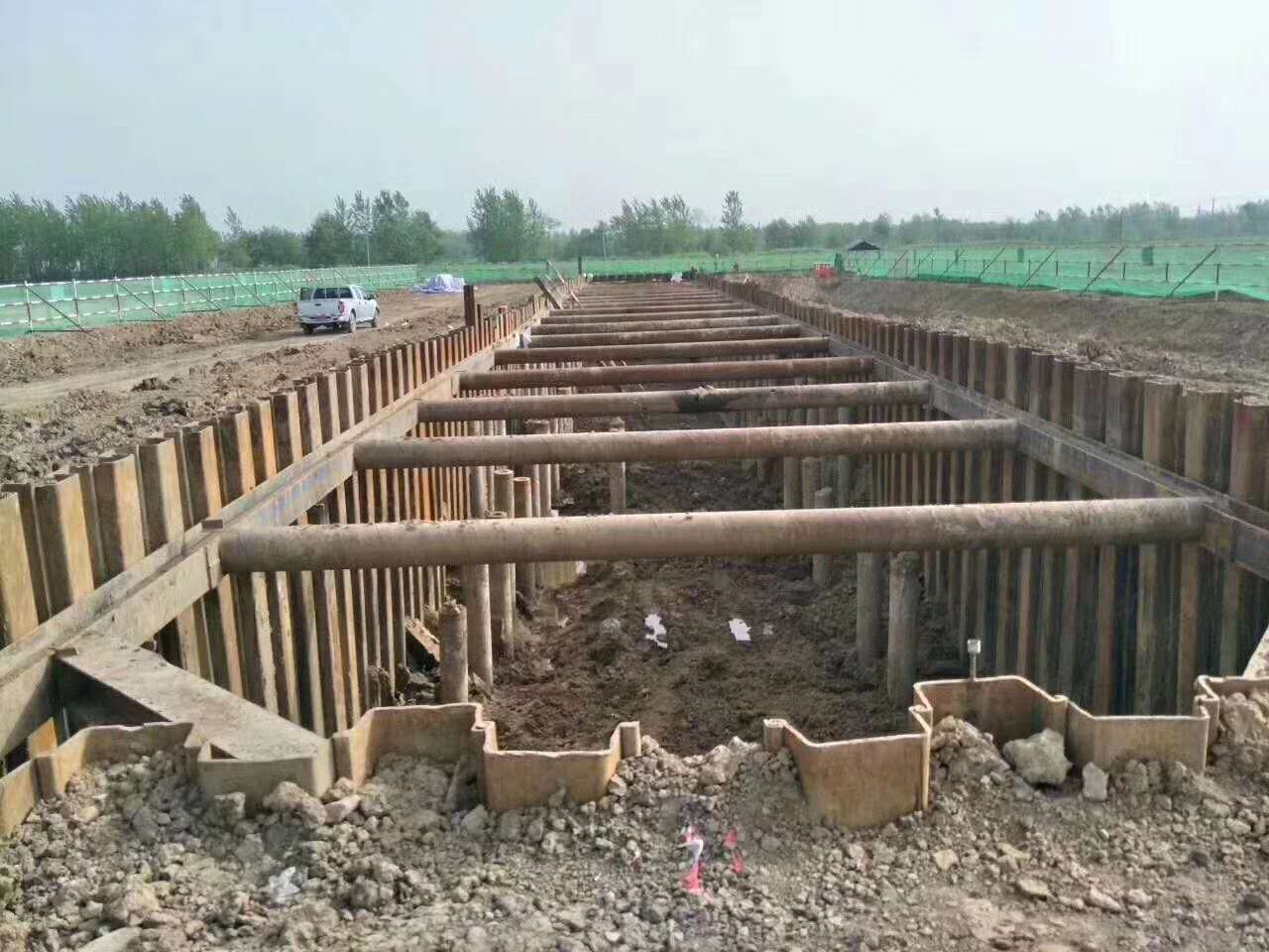 长春打桩机施工 正规的钢板桩定做 售后完善 型号齐全