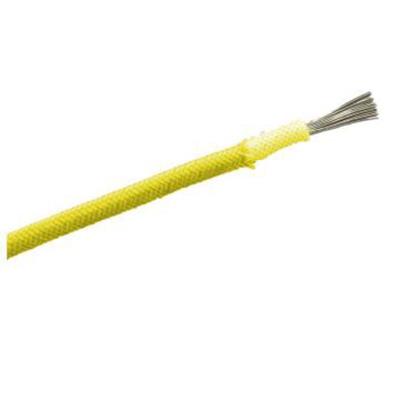 远东 铜芯阻燃C级聚氯乙烯绝缘绞型连接用软电线,ZC-RVS-300/300V-4*0.75黄,100米/卷  ZC-RVS-300/300V-4*0.75黄