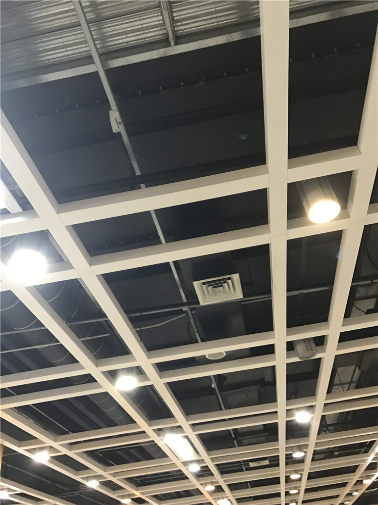 造型铝格栅 办公室铝格栅