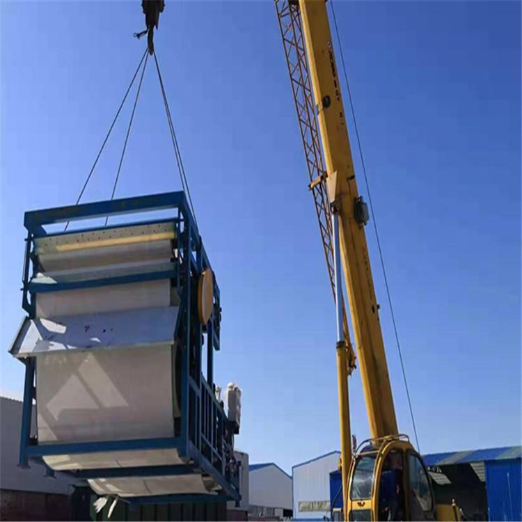 污泥脱水机定制厂家 临夏砂石泥浆脱水处理机