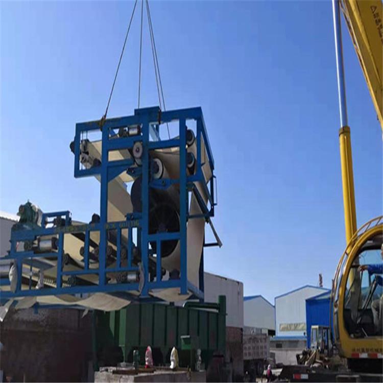 真空污泥脱水机设备 乌兰察布泥浆脱水处理机设备价格