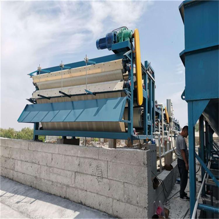 尾矿泥浆处理污泥脱水机 达州泥浆脱水机设备供应商