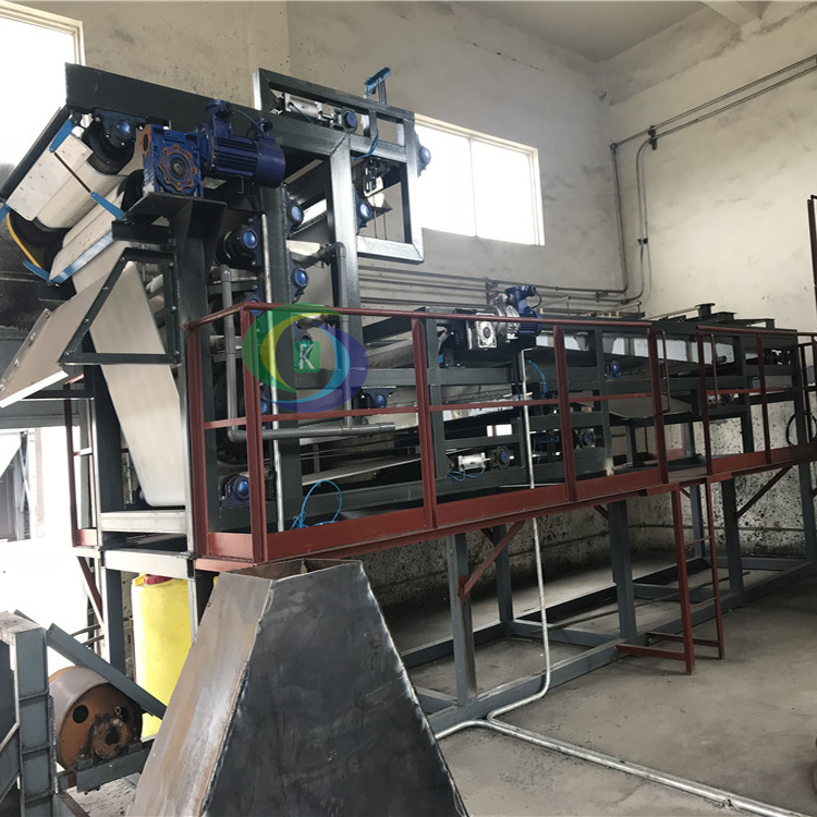 洗沙分离处理污泥脱水机 保定皮带泥浆脱水处理机设备