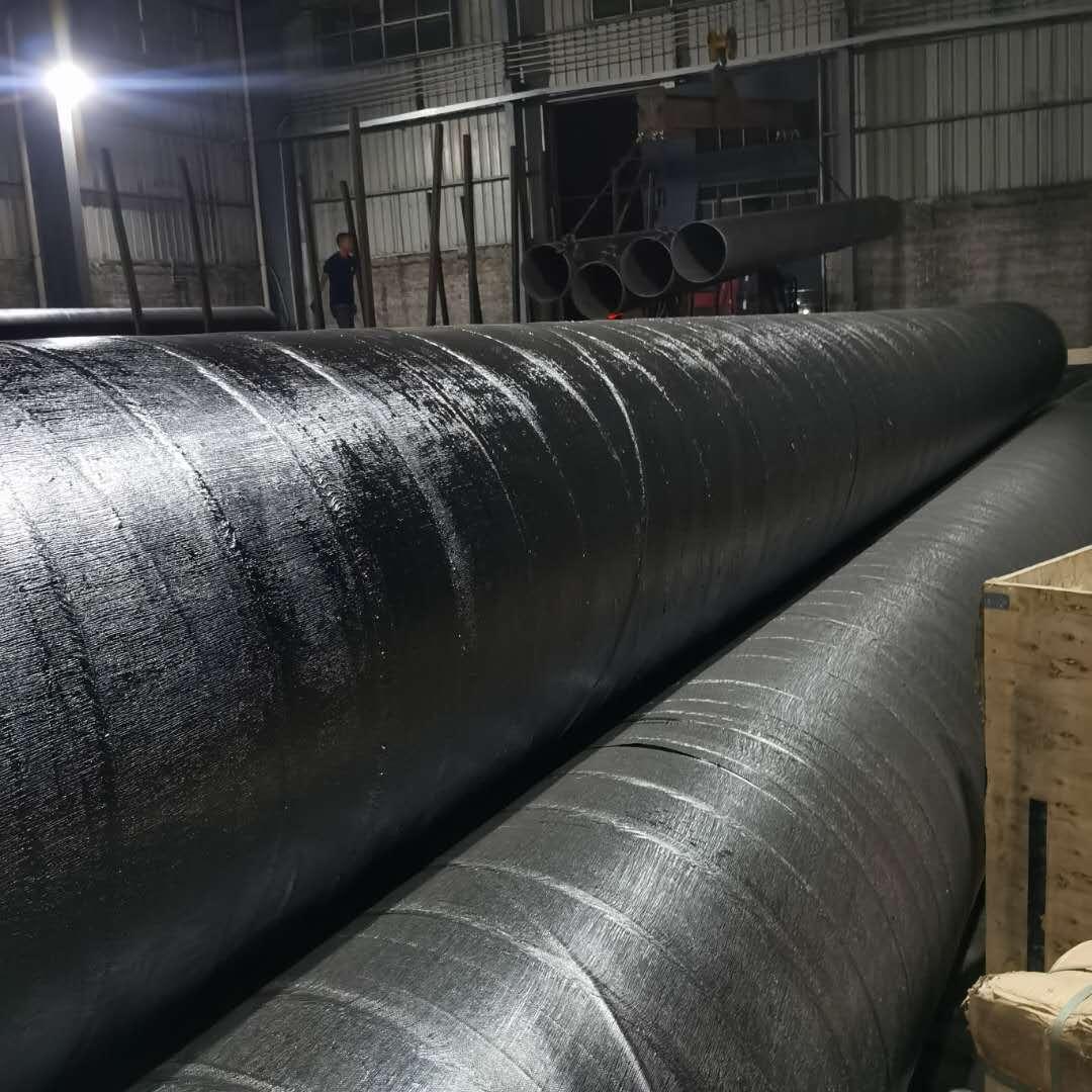 两油一布防腐焊接螺旋管厂家 环氧沥青防腐螺旋管