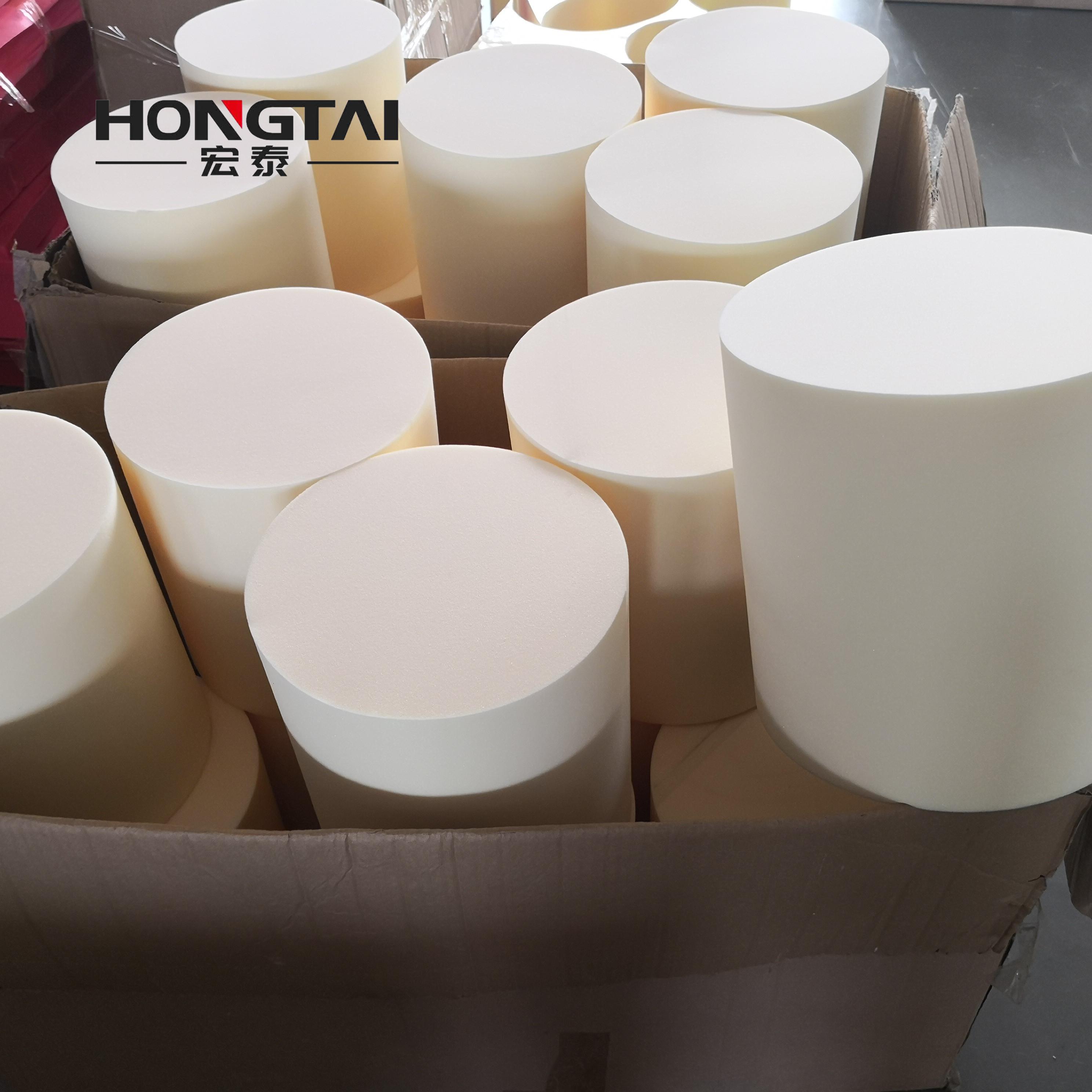 定制海绵圆柱高密度海绵条 圆形海绵棒