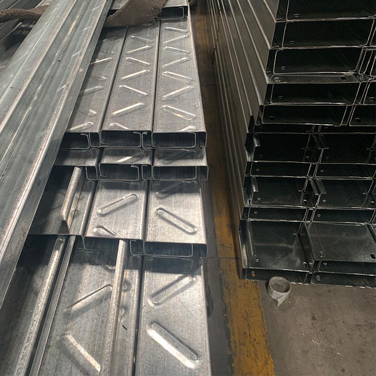 钢结构支架 广东加筋C型钢走线槽C型钢