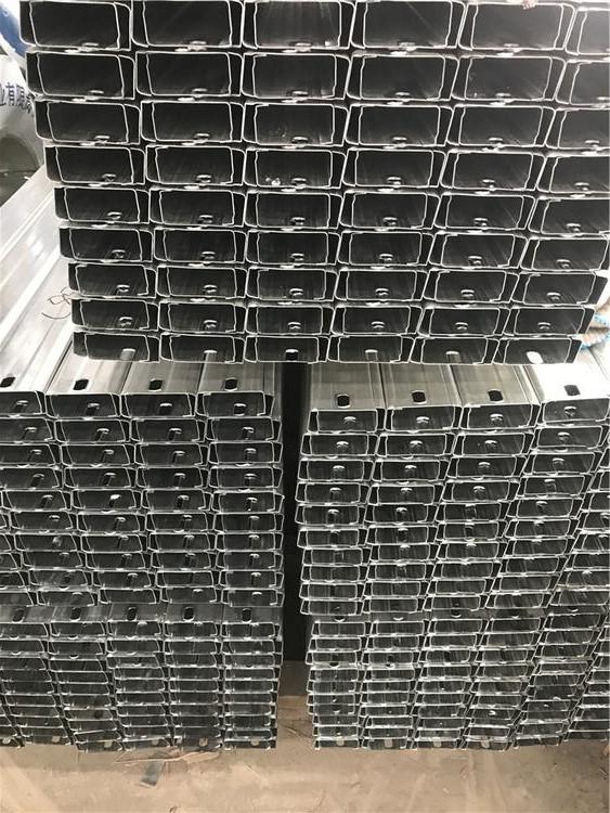 冷弯型钢 广州厚壁C型钢太阳能支架C型钢