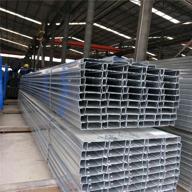 叉车C型钢 惠州走线槽C型钢钢支架