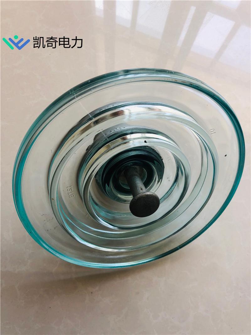 玻璃钢化绝缘子 湖北黄石玻璃钢化绝缘子 高压玻璃绝缘子U70B