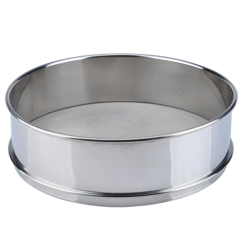 欣围 筛子 304不锈钢 砂轻物质实验用 筛网 筛子 公称直径:60cm 筛口高度:12cm 材质:304不锈钢 目数:2000目