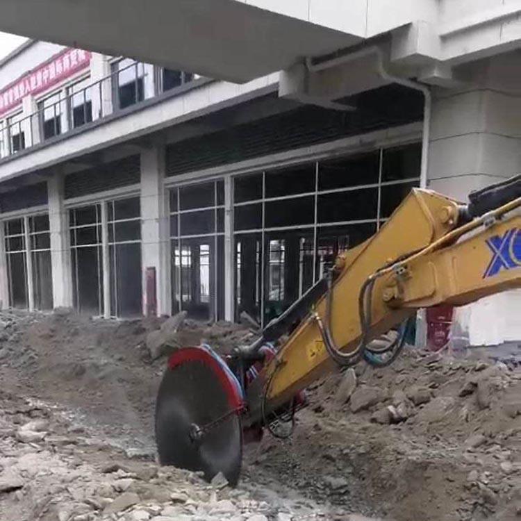 挖掘机切石机 四川挖掘机液压厂商