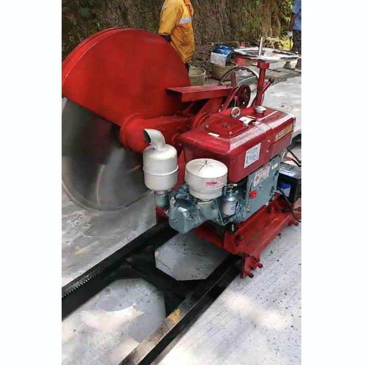 挖机改装 重庆石材切石机哪里有卖
