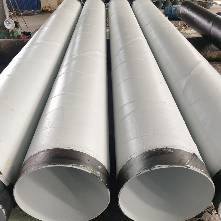飲水管道用防腐鋼管 IPN8710防腐焊接螺旋管 飲水管道給水管