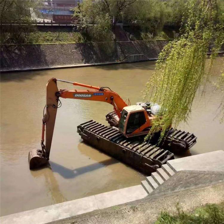 水上挖机出租 北京水上挖机出租公司