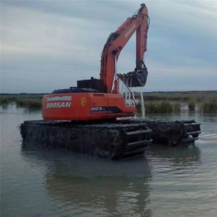 水挖租赁 德州湿地挖机租赁价格