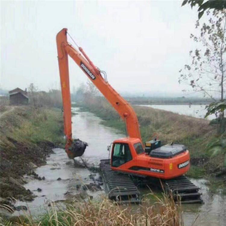 水陆两用挖掘机租赁 温州水陆两栖挖掘机租赁费用