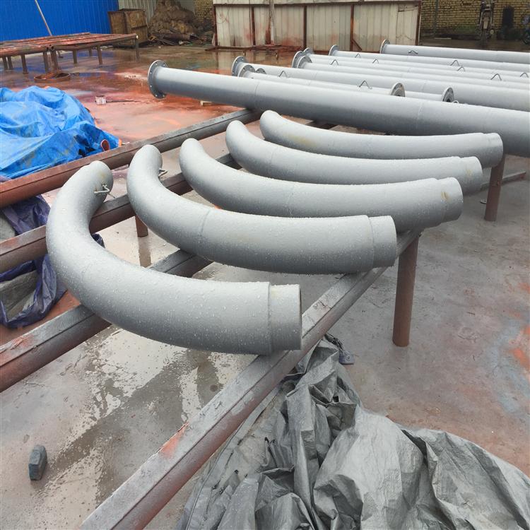 黑水缓冲装置三通 DN200双金属耐磨弯头洗煤厂用