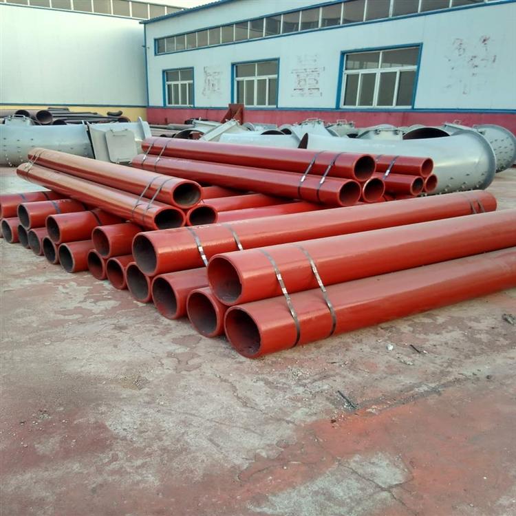 小口径耐磨弯头 DN100陶瓷复合耐磨管矿山输送