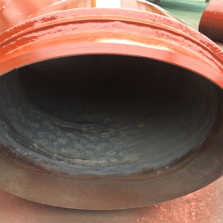 一次风管耐磨管 DN300碳化硅耐磨弯头脱硫脱硝
