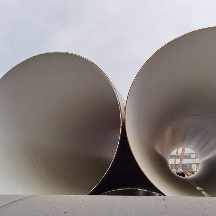 飲水管道用防腐螺旋管 IPN8710防腐螺旋焊接鋼管 無毒涂料