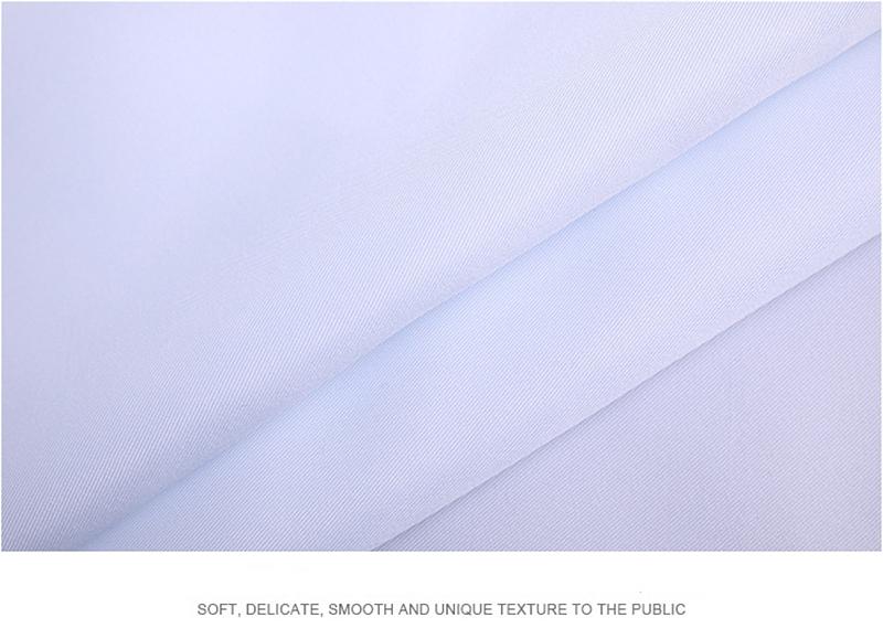 印花布 天津涤棉衬衫面料高品质