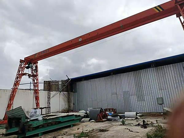 廣東32噸盾構門式起重機廠家 3T門式起重機廠家