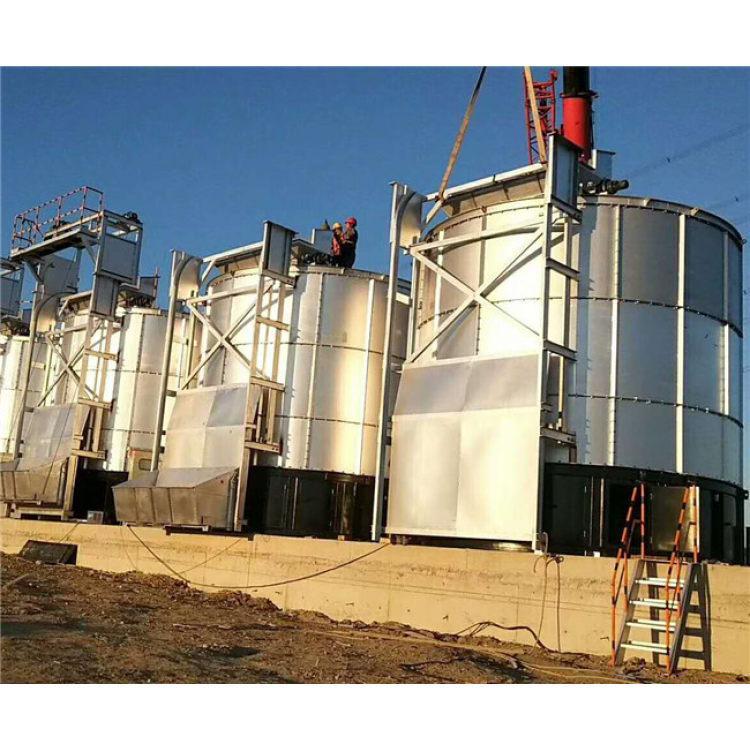 牛粪发酵罐 有机肥加工设备