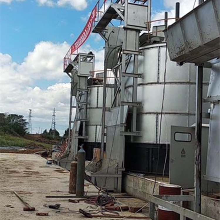 牛粪有机肥发酵罐 养殖场小型粪污发酵罐