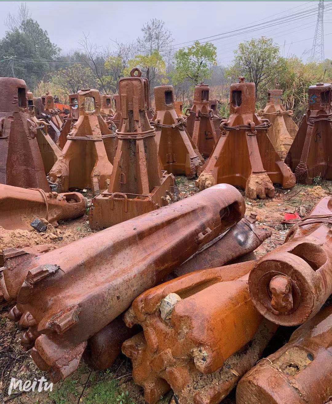 大量收购二手打桩机锤头 湖南特价大量收购新旧打桩机锤头
