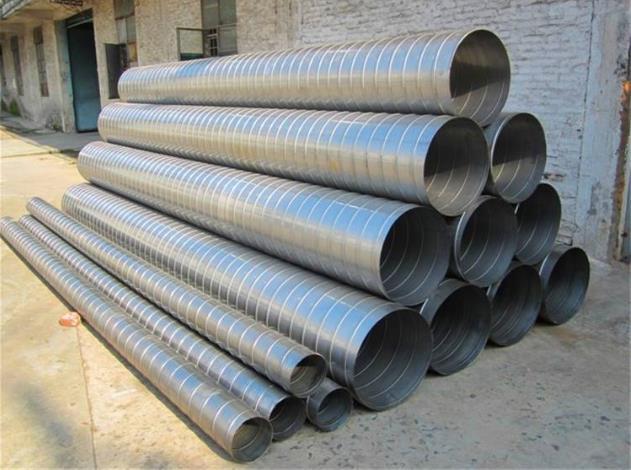 不锈钢螺旋通风管 南平螺旋通风管厂商