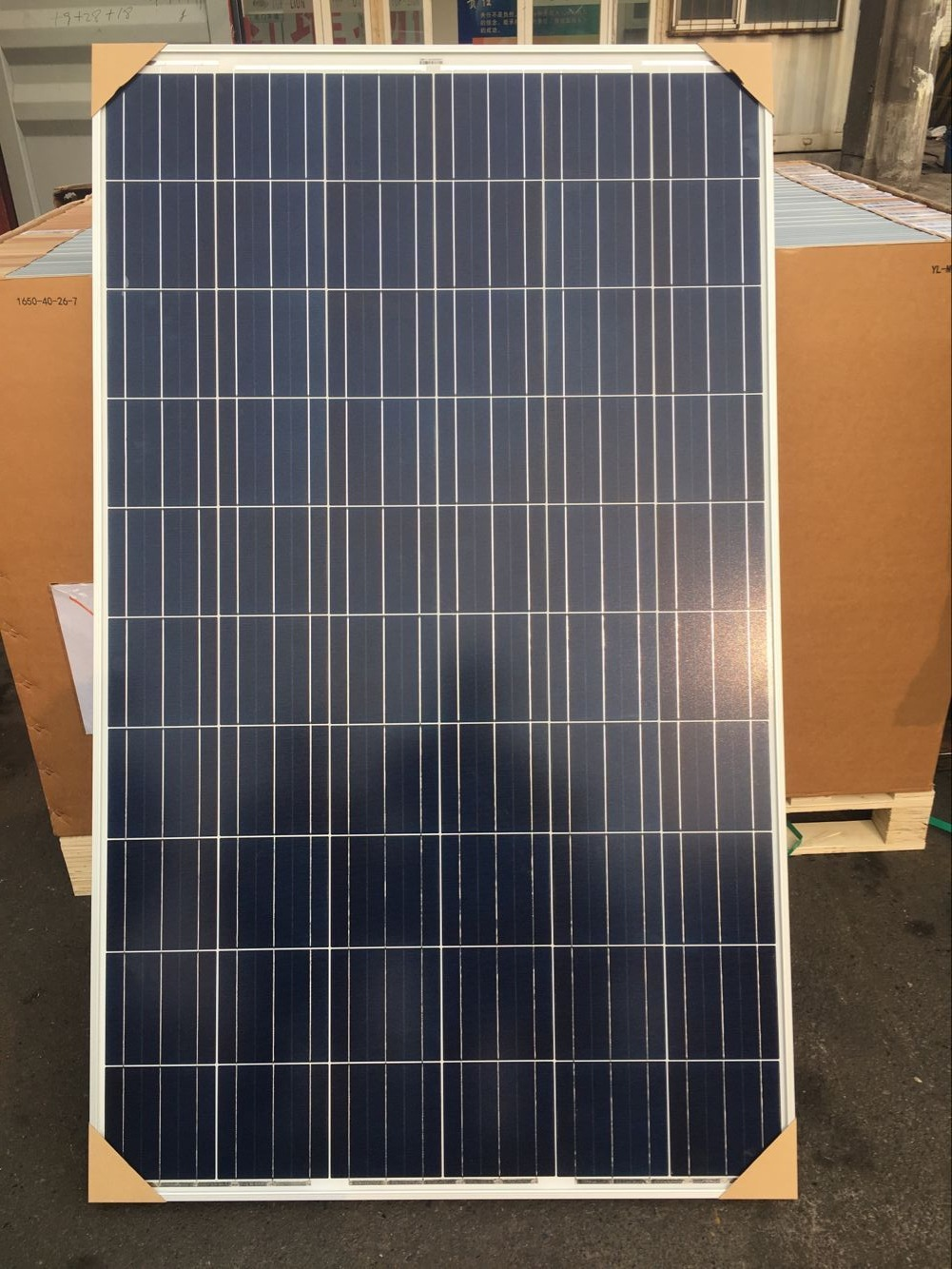 太阳能电池板组件-山东80W多晶太阳能电池板