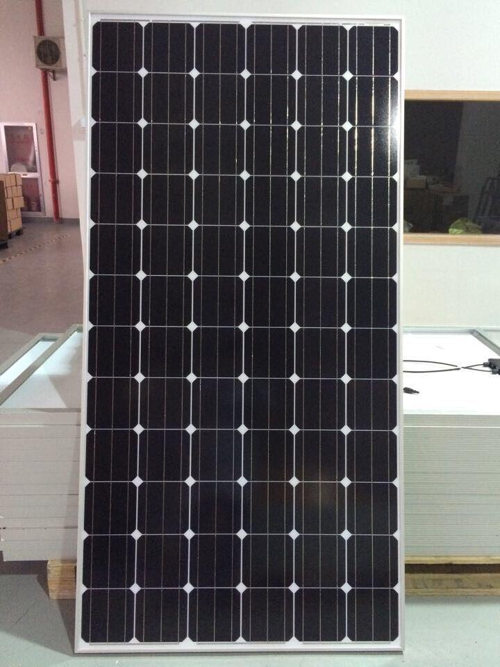 380W单晶太阳能电板 山东单晶太阳能电池板销售价格