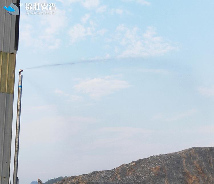 粉尘喷雾治理 陇南环保降尘喷雾机设备