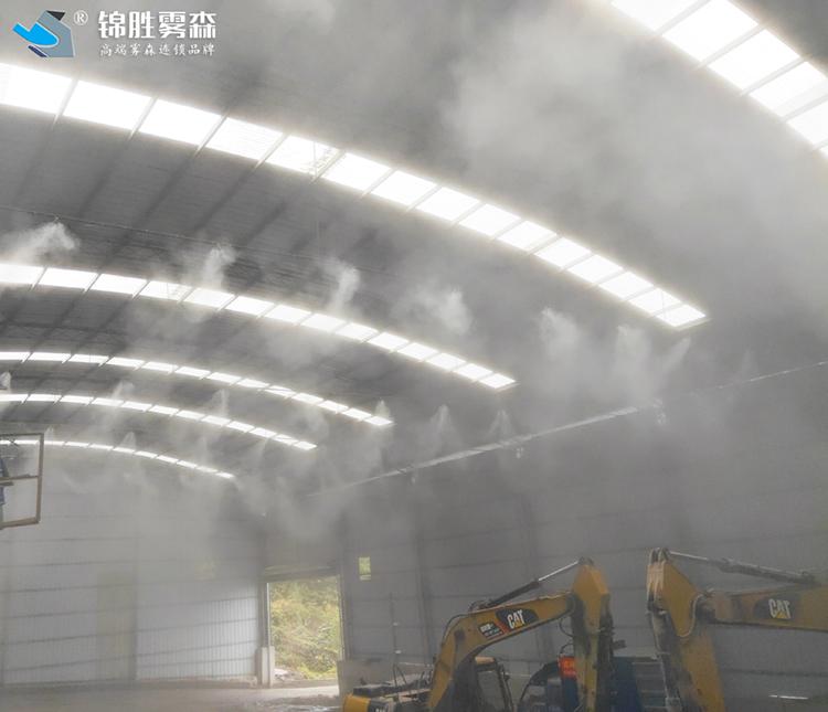 车间喷雾降尘 庆阳高压水雾降尘