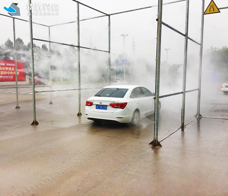 食品人员消毒通道 庆阳高速路车辆消毒通道