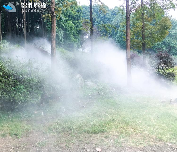 加湿除静电 天水加油站水雾加湿