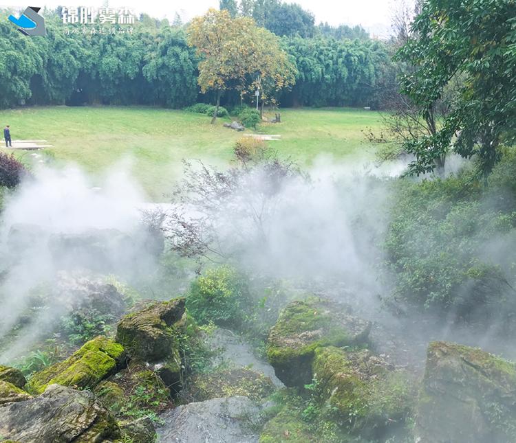 加油站水雾加湿 酒泉高压水雾加湿设备