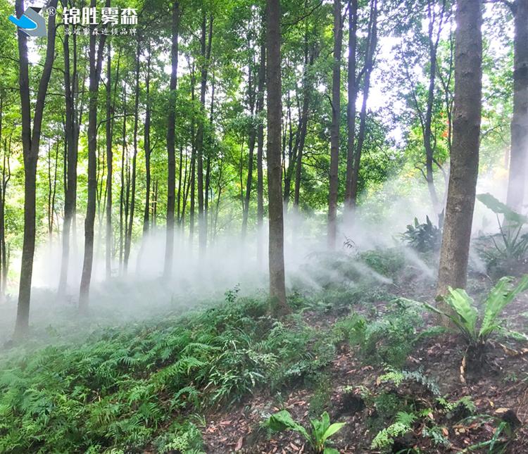 加油站水雾加湿 金昌加油站水雾加湿