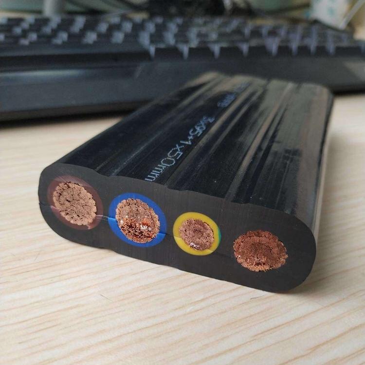 卷筒扁平電纜 上海名耐聚氨酯扁電纜價格優惠